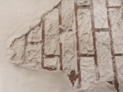 brick texture with artex