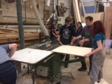 Learning to use the Bench Saw